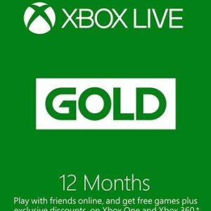 Xbox Live Gold 12 AY Xbox Live Key