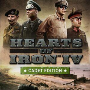 Hearts of Iron IV: Cadet Edition Steam Key