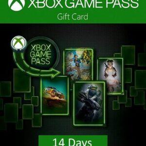 Xbox Game Pass 4 TANE 14 Günlük CD KEY